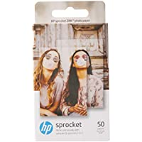 HP Zink Photo Paper (2 * 3 inch) - Pack of 50 - for HP Sprocket & Sprocket 2-in-1
