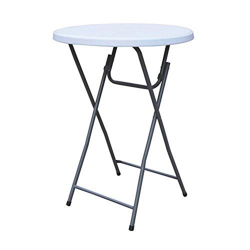 Stehtisch Klappbar Rund Ø 80cm Klapptisch Biertisch Bistrotisch Bartisch Partytisch