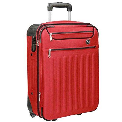 Movom Brooklyn Equipaje de Mano, 55 cm, 33 Litros, Rojo
