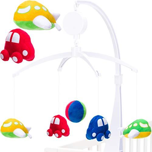 Baby Kinder Musikmobile (0+) MIT SPIELUHR - Einschlafhilfe (AUTO/FLUGZEUG) - Spieluhr, NEUES, MusikmobileMobile, Kinder, einschlafhilfe, baby einschlafhilfe auto, Baby, AUTOFLUGZEUG