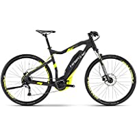 HAIBIKE Sduro Cross 4.0 Herren schwarz/lime matt Rahmengröße 52 cm 2017 E-Crossbike