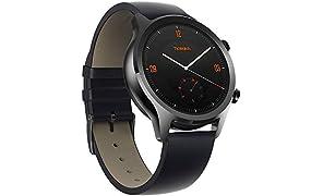 Ticwatch C2 Smartwatch, Wear OS von Google Classic Uhr, IP68 Sweat und Wasserdicht, Google Pay, Kompatibel mit iPhone und Android