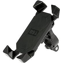 """KKmoon Soporte de Móvil 3.5"""" - 7"""" GPS Navegador para Bicicleta Motocicleta 360 Giratorio Montaje Manillar Compatible con iPhone 6/6S Plus/5S Smartphone"""