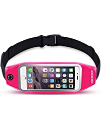 Running Belt & Fitness Workout Belt Waist Pack Pouch Bag For IPhone 7, 7 Plus, 6s, 6s Plus, 6, 6 Plus, Gay J7,...
