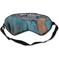 Sleep Eye Mask Pistol Artwork Lightweight Soft Blindfold Adjustable Head Strap Eyeshade Travel Eyepatch E9 preisvergleich bei billige-tabletten.eu
