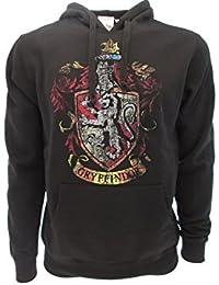 Harry Potter SUDADERA CON CAPUCHA Hoodie Simbolo de GRYFFINDOR Casa - 100% Oficial WARNER BROS