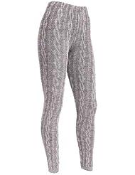 Mix lot dames câble trapu pleine longueur en tricot épais leggings femmes pantalon extensible taille de vêtements décontractés 36-42