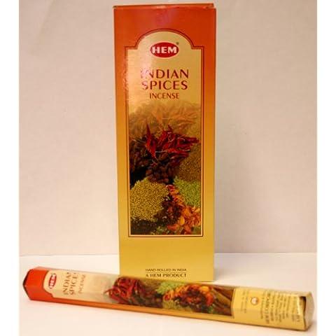 Indian especias de incienso - dobladillo brand - , 1 varillas de aproximadamente 20 unidades