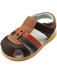 27774acf436b47 TAIYCYXGAN Baby Jungen Sandalen Lauflernsandalen Sommer Schuhe mit weiche  Sohlen