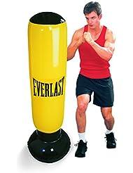 Everlast 14EV2628YE - Saco boxeo hinchable, color amarillo