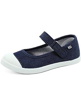 SNUOEN Girls Summer Reci¨¦n Llegado de Lona Al Aire Libre Mary Jane Shoes Zapatos de Barco
