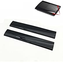 Zhuhaixmy Left Right Faceplate Case Shell Cover Surface Cover Links rechts Frontplatte Gehäuseoberteil Abdeckung Gehäuse Hülle für PS3 Slim 4000 Console