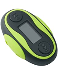 Difrnce MPW-810 Wasserdichter MP3-Player mit Display 4GB lime