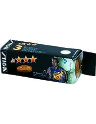 Balles de tennis de table 3étoiles Stiga Competiton - Orange