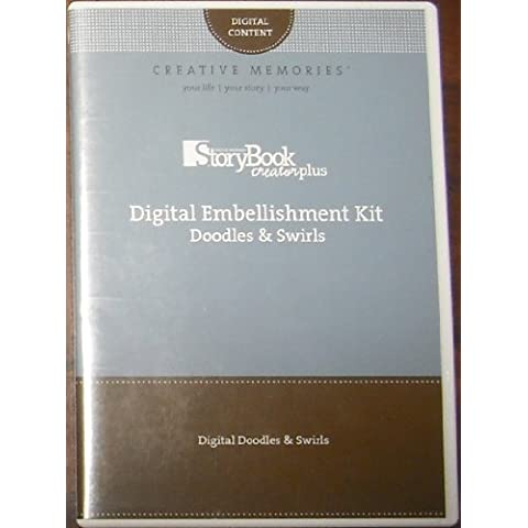 Storybook Creator Plus: Digital Embellishment Kit: Doodles & Swirls