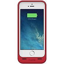 Mophie Juice Pack Helium Akku Case für iPhone 5 und 5s in Rot Metallic - MFI-zugelassen
