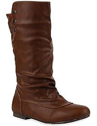 Trendy Flache Boots Bequeme Damen Stiefel Stiefeletten