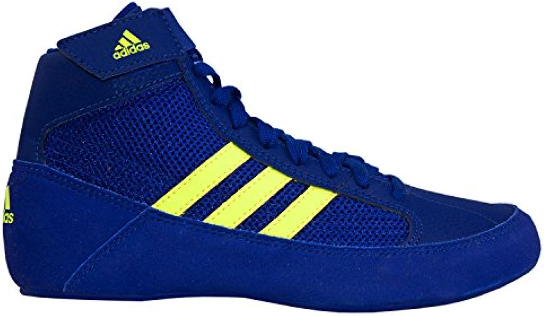 adidas HVC 2 Royal Solar Yellow Shoes Wrestling Shoes Yellow Royal 5.5 7f9647