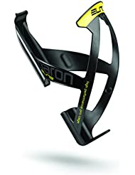 Elite Paron Race Matte Black Yellow Racer Bike Cycling Universal Drink Holder Bottle Cage