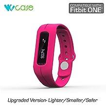 Wocase Oneband Fitbit One Bracelet accessoire (version de mise à niveau 2016, sécurisé, difficile à égarer) pour le traqueur d'activité et de sommeil Fitbit One (Transformez votre Fitbit One en kit flex/force/charge boîte pour offrir ou vendre au détail)
