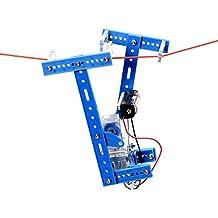 Rishil World DIY Lanyard Climbing Robot Kit Handmade Toy Kit Assembly Material Package For Children