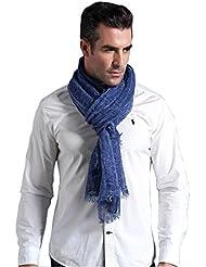 Prettystern - longue écharpe de lin 200 cm Lin & Modal Foulard fibre naturelle couleur unie - sélection des couleurs