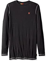 Ariat Men's Big and Tall Flame Resistant Polartec Powerdry Long Sleeve Baselayer