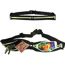 1A Jogging funda Amarillo unidad Cinturón Sport Fitness–Funda de cinturón para THL W200