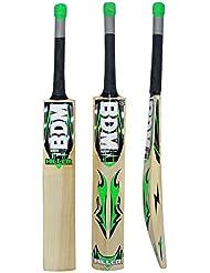 Miller BDM Cachemira Willow Wood bate de cricket Con estuche de transporte tamaños adultos Mango Corto - Elija Peso