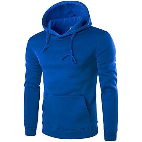 Ropa de abrigo para hombre, RETUROM La nueva capa de la chaqueta de las tapas de la sudadera con capucha de la manga del nuevo de los hombres del estilo rebordea hacia fuera
