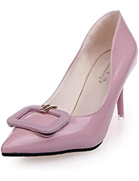 WYWQ Scarpe da festa di nozze delle scarpe da sposa degli alti talloni delle signore Pattini della pompa del vestito...