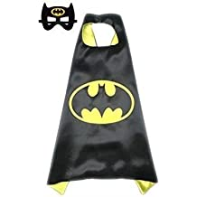 Mr Gadget Solutions® Premium Quality super mask and cape Costume Set for  Kids Batman 880da1d34c43