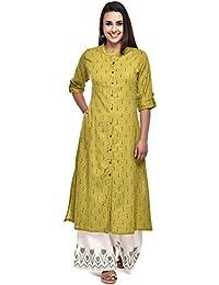 Pistaa's Women's Cotton Readymade Salwar Suit