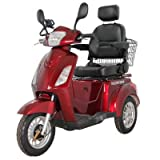 GreenPower 3 Wheeled Red Electric Mobility Scooter