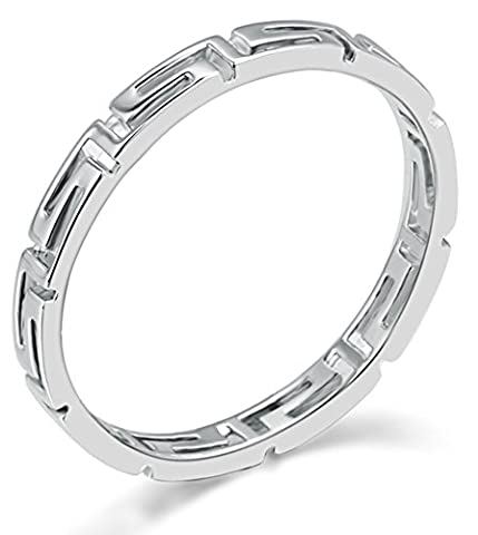 SaySure - 18K Platinum Plated Classic Wedding Ring