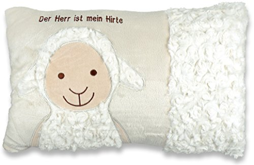 Christliche Geschenkideen Weiches Kuschel-Kissen Schaf Der Herr ist Mein Hirte Psalm 23