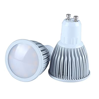 RSN® GU10 LED Spotlight Bulb 7W Warm White 3000K SMD Spot Light Lamp Ceiling Downlight for Indoor Home Bedroom LED Lamp 2pcs