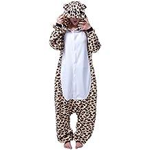 Molly Kigurumi Pijamas Traje Disfraz Animal Adulto Animal Pyjamas Cosplay Homewear Leopard L