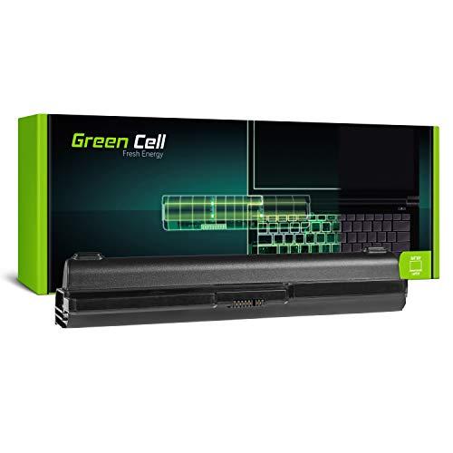 Green Cell Extended Serie L08L6Y02 L08S6C02 L08S6Y02 Laptop Akku für Lenovo G530 G550 G555 G430 G450 B550 N500 (9 Zellen 6600mAh 11.1V Schwarz)