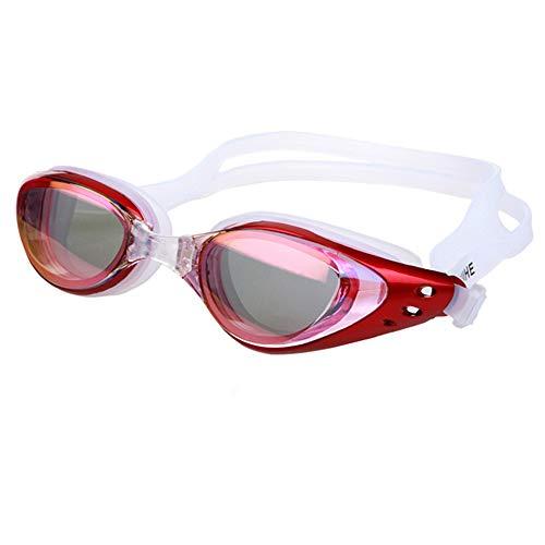 ZhaoZC Schwimmbrille Anti-Fog und Anti-Uv Belt Free Schutzhülle für Männer und Frauen Jugend wasserdicht Sonnenschutz,C (Jugend Sonnenbrillen Nike)