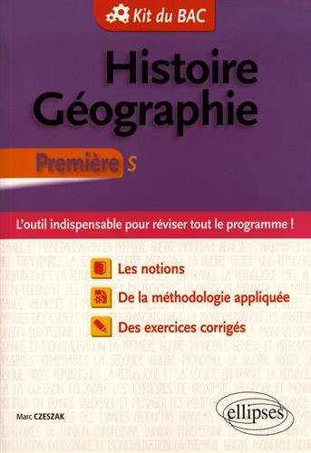 Histoire Géographie Première S