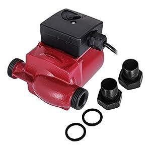 Rosali Bomba de Agua 100W/75W de Alta Presión de Casa 220V Bomba de Agua de Alta Presión para la Ducha y el Jardín (75W)