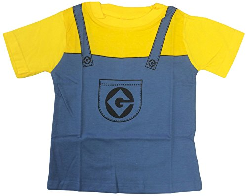 Image of Despicable Me Minion Costume T-Shirt (2-3 years)