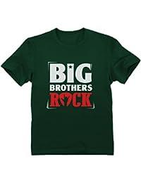 Camiseta para niños - Big Brothers Rock - Regalo para Niños Hermanos Mayores