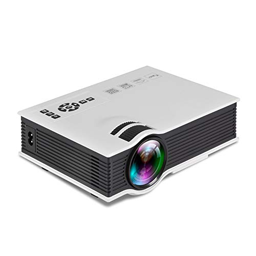 LEJIADA Projector Selling UC40 Mini Portable Home Micro LED Projector 138 Inch Large Screen To Watch HD 1080P White