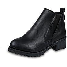 Stivali Donna , feiXIANG® Donna inverno stivaletti tacchi bassi moda stivali autunno inverno scarpe-cuoio artificiale+ plastica