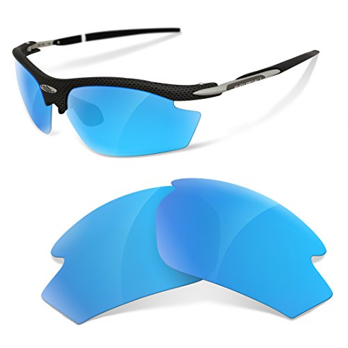 sunglasses restorer Kompatibel Ersatzgläser für Rudy Project Noyz , Ice Blue Polarized