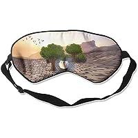 Sleep Eye Mask Swan Tree Lightweight Soft Blindfold Adjustable Head Strap Eyeshade Travel Eyepatch preisvergleich bei billige-tabletten.eu