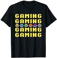 Joystick Di Gioco Classico Retrò Vintage Gaming S Maglietta