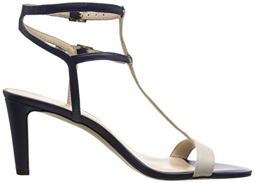 Nine West Dacey synthétique Sandales à talons Navy/Off White
